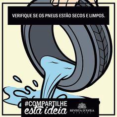#Compartilheestaideia . Se guardas algum pneu em casa deve sempre se certificar de que ele não tem água parada em seu interior além disso mante-los sempre cobertos! . Lembrem-se de sempre acompanhar a Revista http://ift.tt/1UOAUiP