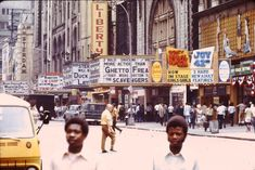Now Disney-fied this was dangerous, dirty, raw and rustic 42nd street during the 70's and 80's