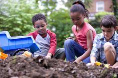 Cómo hacer un jardín para niños - http://www.jardineriaon.com/como-hacer-un-jardin-para-ninos.html #plantas