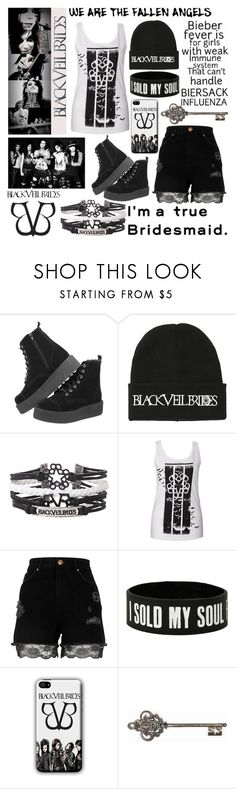 """""""BVB"""" by bezaliel ❤ liked on Polyvore featuring Hot Topic, River Island and Graham & Brown"""