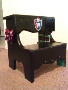 DIY Monster High step stool
