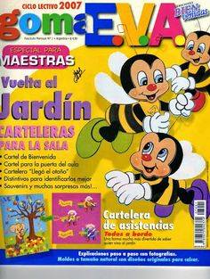 Revista de Foamy para maestras Inspirations Magazine, Animal Design, Paper Piecing, Cereal, Arts And Crafts, Books, Insects, Internet, Hama Beads