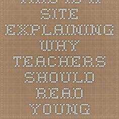 Why should adults read?
