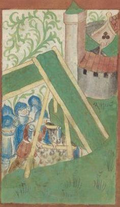 Kriegstechnik (Bilderhandschrift) Oberrhein · um 1420-1440 Ms. Rh. hist. 33b  Folio 119r