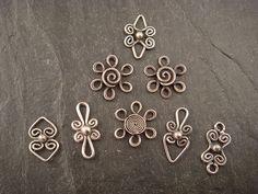 filigree dangles | Small sterling silver filigree components… | Flickr