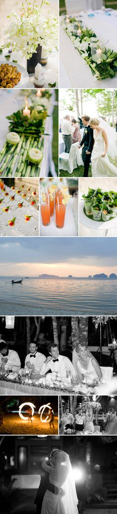 elegant destination wedding at Tubkaak Boutique Resort, Krabi, Thailand, photos by top photographers Harrison Studio