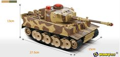 RC Tank HuanQi 518 Remote Control Tank 28*15*13cm, Battle Tank sets Army Color Cannon Sound Product Description FULL size, infrared shooting battle tanks. Tower&tanks and the ability to engage in an incredible realistic battle simulation with a friend! Remote Control IR Tanks. Realistic mechanized movement and Infrared targeting firing simulation. You can disable your opponents ...