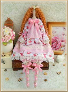 Tilda Doll fabric doll-Cloth doll rag doll-stuffed от MyShopDolls