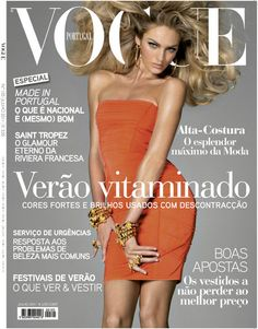 Candice Swanepoel by Steven Meisel Vogue Portugal July 2011 Vogue Covers, Vogue Magazine Covers, Vogue Brazil, Vogue Japan, Candice Swanepoel, Saint Tropez, Top Models, Vogue Portugal, South African Fashion