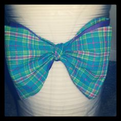 Reversible Bow tie created this week by my brother