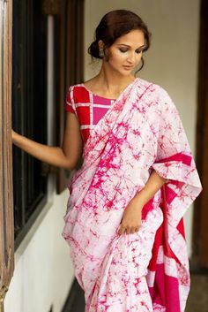 Attractive Handloom Khadi Cotton Saree With Blouse Piece by Rs Collection - Online shopping for Sarees on MyShopPrime - Designer Sarees Collection, Saree Collection, Indian Dresses, Indian Outfits, Indian Clothes, Saree Jackets, Online Shopping Sarees, Sarees Online, Silk Cotton Sarees