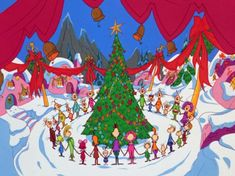 Pictures From Whoville Christmas Tree | Miss My Childhood: Once Upon a Time in Whoville