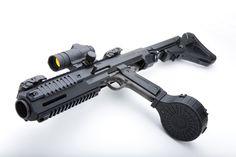 HERA 1911 Carbine Kit - The Firearm Blog Turn your mil-spec 1911 into a carbine.