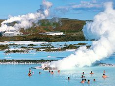 The World's 5 Best Hot Springs: As we Brits know, a dip in the sea this time of year usually means holding your breath, sprinting, muscles tensed and embracing temperatures colder than the back of your freezer. So this spring, instead of waiting for the sun to warm our waters, try taking a plunge into one of the world's many mineral-rich geothermal pools, which offer spa-like experiences from naturally hot springs all year round. Here are some of the best.