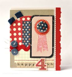 Amy Heller for October Afternoon-love how she used her scraps to make this GORGEOUS card!