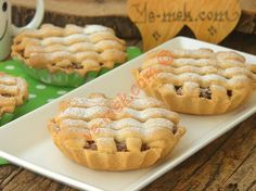 Elmalı Mini Turta Resmi Biscuits, Mini Tart, Prune, Apple Cake, Sushi, Muffin, Cupcakes, Restaurant, Cookies