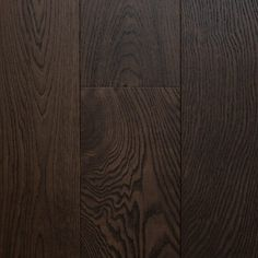 Signature Oak Engineered European Timber - Colour Brushed Cocoa
