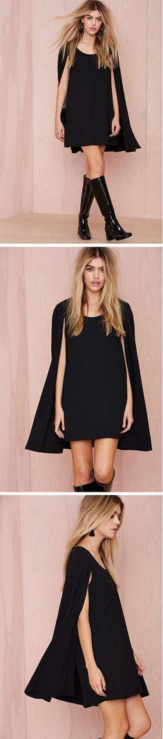 Catherine Cape Dress #LBD