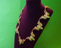 12 Holiday Coupon MATISSE Copper NECKLACE beautiful by jaguara77, $149.00