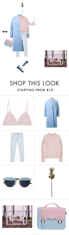 """fiore"" by d-ile ❤ liked on Polyvore featuring Cosabella, Le Ciel Bleu, Zara, Christian Dior, Crate and Barrel, Uwharrie, La Cartella and Jil Sander"
