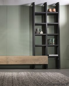 🌟 💖 🌟 💖 Hanging oak tv unit is On and la - living shop All of the Pilat Living Room Wall Units, Living Room Tv Unit Designs, Living Room Storage, Home Living Room, Interior Design Living Room, Living Room Decor, Home Room Design, House Design, Banquette
