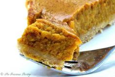 Clean Eating Pumpkin Pie. I made a few of these pies last year and they are SO yummy! Plan on baking a few again this year!