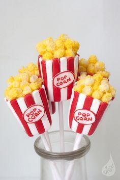 Popcorn Cake Pops   Flickr: Intercambio de fotos