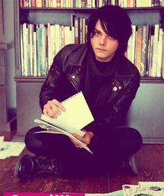 Find images and videos about my chemical romance, gerard way and mcr on We Heart It - the app to get lost in what you love. Gerard Way, Frank Iero, Emo Bands, Music Bands, My Chemical Romance, Tim Burton, Mikey Way, Black Parade, Pierce The Veil