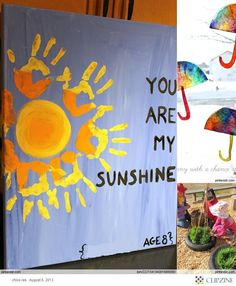 Kids Crafts-Hang in your classroom with your students hands surrounding the sun. Because everyone is needed to complete the craft. #sensoryedgelovescrafts #craftsforkids