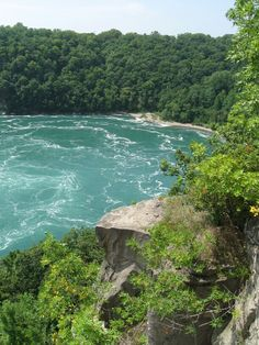 Devil's hole, Niagara River. I always hiked there as a kid with my dad.