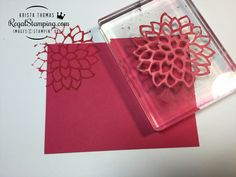 card making techniques die cutting Making Stamps from Die Cuts Technique Card Making Tips, Card Making Tutorials, Card Making Techniques, Making Tools, Making Cards, Rubber Stamping Techniques, Embossing Techniques, Make Your Own Stamp, Stamp Making