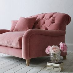 Buy Crumble Snuggler by Loaf at John Lewis in Dusty Rose Clever Velvet, Light…