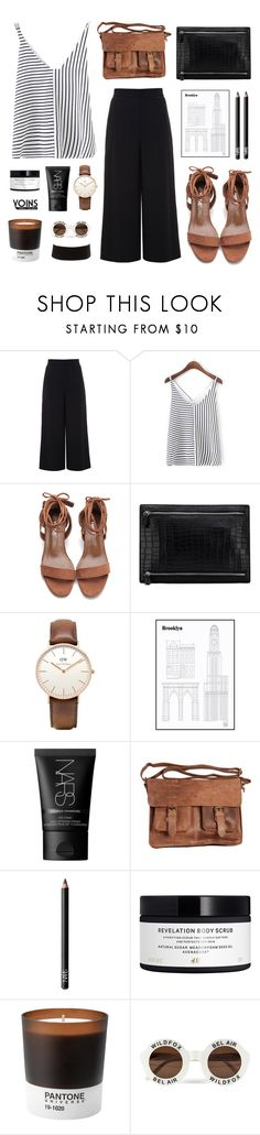 """""""Yoins28"""" by jesicacecillia ❤ liked on Polyvore featuring Proenza Schouler, Daniel Wellington, NARS Cosmetics, Rowallan, H&M, Pantone, Wildfox, Charlotte Russe, yoins and yoinscollection"""