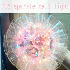 These would look awesome on the patio! DIY sparkle ball lights out of plastic cups and christmas lights. Christmas Lights Background, Hanging Christmas Lights, Background Diy, Holiday Lights, Outdoor Christmas, Christmas Diy, Christmas Decorations, Christmas Balls, Light Decorations
