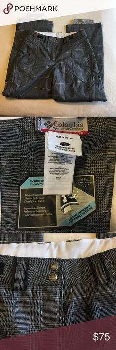 COLUMBIA Convert Boardwear Snowboard Pants Columbia brand Convert Snowboard pants. Worn twice at the most. Excellent condition. No rips, stains, or holes. From a non-smoking home. Only reasonable price negotiations through the offer button please. Columbia Pants