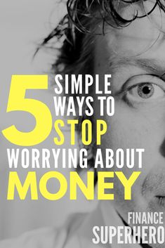 If you're stressed out about money, you need to read this! These 5 steps helped me stop worrying about money and have more time to enjoy my life. All I needed was a simple plan!