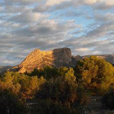 Buenos días desde el paraiso#RozandoElCielo #Colors #NoFilter #Viernes #FindeSemana #MontañasDeAlicante #Escapada #ItxasmendINosCuida #Finestrat