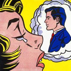 Thinking of Him (1963)- Roy Lichtenstein