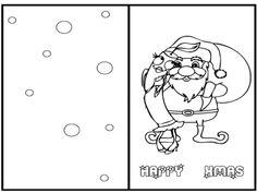greeting cards christmas with tree christmas coloring page christmas cards coloring page pinterest trees coloring and christmas - Coloring Christmas Cards 2