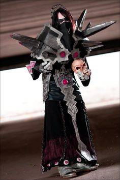 Warlock undead cosplay from World of warcraft by ~PxScosplay