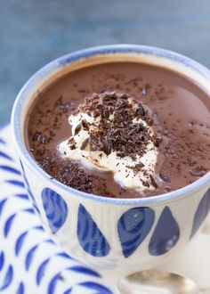 Hot cocoa made with cocoa powder and maple syrup. Mix with coconut milk, almond milk, or any other milk of your choice. Paleo, dairy-free, and vegan.