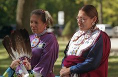 Ojibway Women by andrew prickett, via Flickr