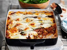 4. Aubergine & Courgette Lasagne Oh my, you do look beautiful. Use vegetables instead of...