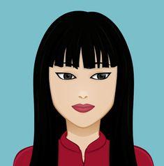 Ling Su Chen  Trabaja como camarera en el Mandarin Foo, el restaurante de sus padres. Aunque su verdadera pasión es cantar y bailar. En sus ratos libres practica Kung Fu, afición que comparte con su novio de toda la vida: Shaoran. Kung Fu, Chen, Disney Characters, Fictional Characters, Disney Princess, Anime, Art, Serving Cart, Romance Novels
