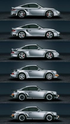 Porsche 911 Turbo: evolution My Dream Car!! Worked on to perfection.