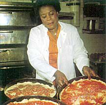 Chicago-Style Deep Dish Pizza. I want to make this ASAP. I need a stand mixer.