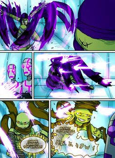 Teenage Mutant Mages Turtles Page 8 by GolzyBlazey on DeviantArt