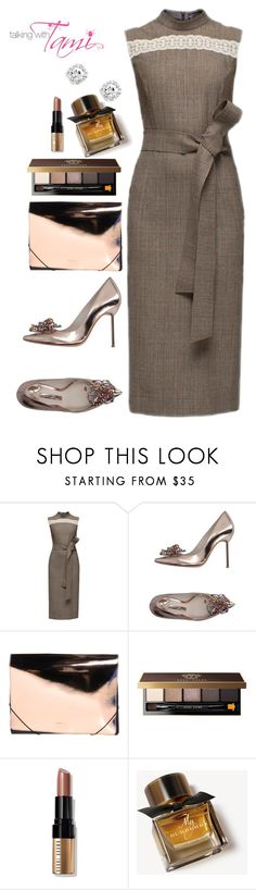 """""""Sunday Flow"""" by talkingwithtami ❤ liked on Polyvore featuring Lattori, Sophia Webster, MM6 Maison Margiela, Bobbi Brown Cosmetics and Burberry"""