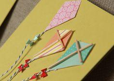 handmade kite cards