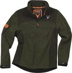 a chaqueta workshell verde marron caza hunting uniformes